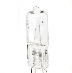 Lâmpada halogenio Eco G9 HI-PIN 33W 230Volts Eglo 12779